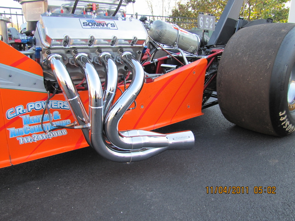 Top Dragster Headers