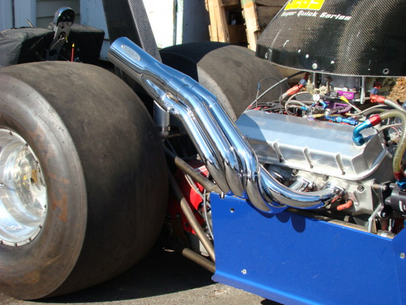 Big Block Chevy Dragster Headers (Upswept)